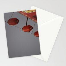 Lantern Line-Up Stationery Cards