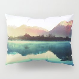 Mountains #watercolor Pillow Sham