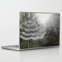umbrella Laptop & iPad Skins featuring Umbrella by Anja Hebrank