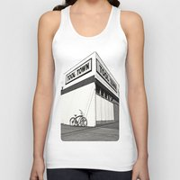 tool Tank Tops featuring Tool Town by Vorona Photography