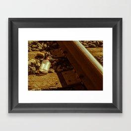 Off the Rails Framed Art Print