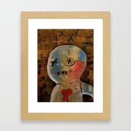 Grisgris gets His Heart Broken Framed Art Print