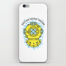 Explore Depths Unkown iPhone Skin