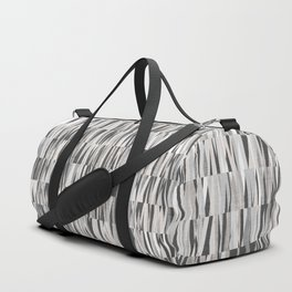 Wexler Mid-Century Modern Geo in Grey Duffle Bag