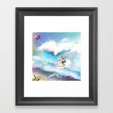 Tubular Xpression Framed Art Print