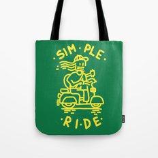 Simple Ride Tote Bag