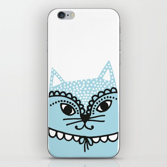 Katze #1 iPhone & iPod Skin
