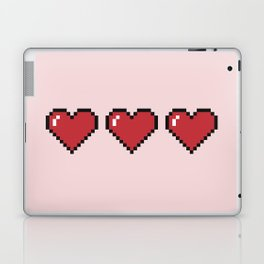 Pixel Hearts Laptop & iPad Skin