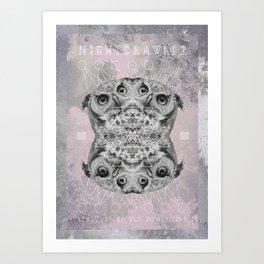 Buho Omega Art Print