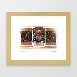 Woody's Cafe Allentown, New Jersey Framed Art Print