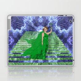 Green Goddess Laptop & iPad Skin