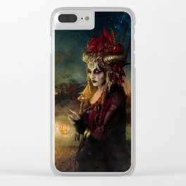Setting the world on fire Clear iPhone Case