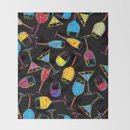 Party time Throw Blanket