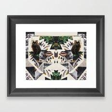 AYAHUASCA CAT (Kaleidoscope)  Framed Art Print