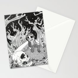 Who Found Johnny 1 Stationery Cards