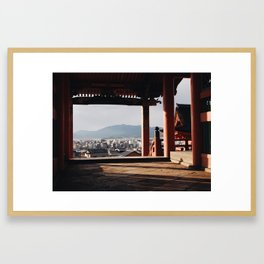 Kyoto View Framed Art Print