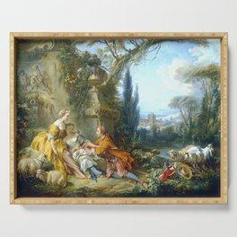 """François Boucher """"Charms of Country Life (Les charmes de la vie champêtre)"""" Serving Tray"""