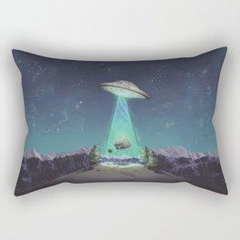 Abducted Rectangular Pillow