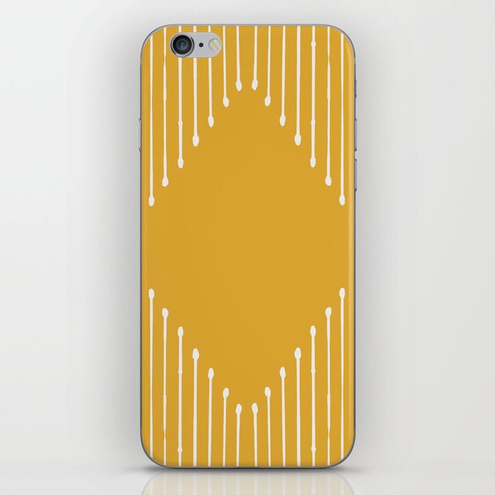 Geo / Yellow iPhone Skin