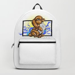 Brown Bunny- Wild World of Balloons Backpack