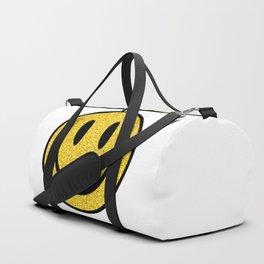 Glitter Smiley Face Duffle Bag