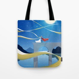 Overlooking the Stars Tote Bag