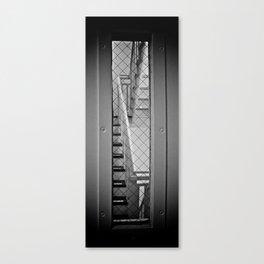 Exit Prohibited Canvas Print