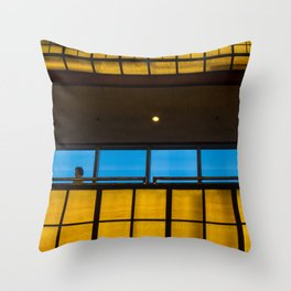 Complimentary Colors Walkway Throw Pillow