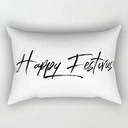 Happy Festivus! Rectangular Pillow