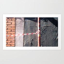 Lazos y muros Art Print