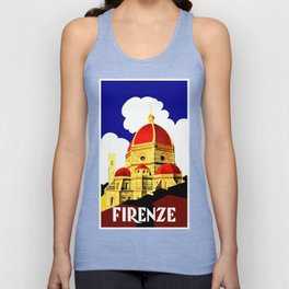 Firenze - Florence Italy Travel Unisex Tank Top