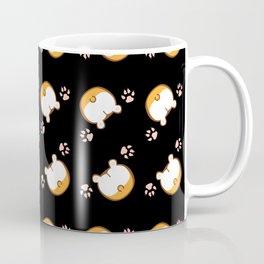 Corgi Butt Pattern Coffee Mug