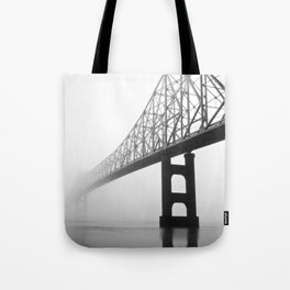 Savanna-Sabula bridge - 2 Tote Bag