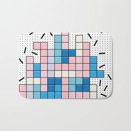 Memphis Tetris Bath Mat