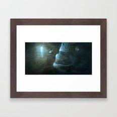 Angler Angling Framed Art Print