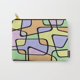 Mid Century Pastel Art Carry-All Pouch