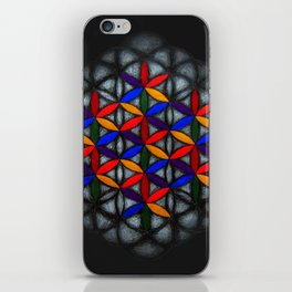 Flower of Life iPhone Skin