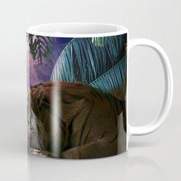 Big Cat Tiger In Jungle With Lightning Coffee Mug