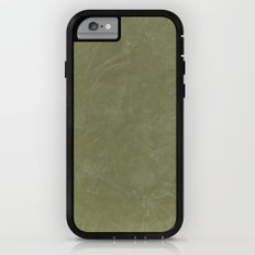 Tuscan Olive Green Plaster iPhone 6 Adventure Case