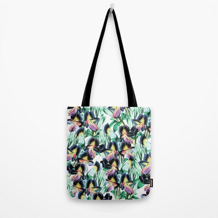 Floral Flutter #society6 #decor #buyart Tote Bag