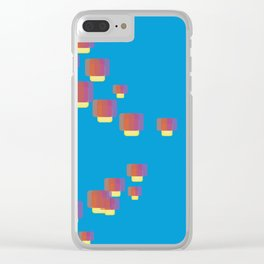 festival of lamps Clear iPhone Case