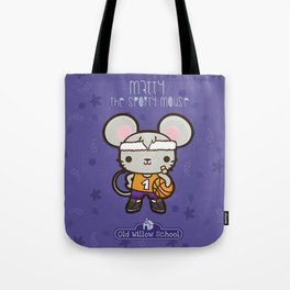 Matty the Sporty Mouse Tote Bag