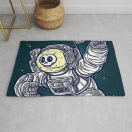 Too Cool Groove Astronaut to the Stars Rug
