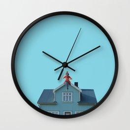 Poppins tea Wall Clock