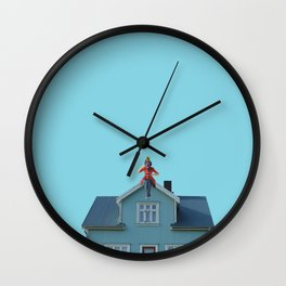 Poppins tea Wall Clock