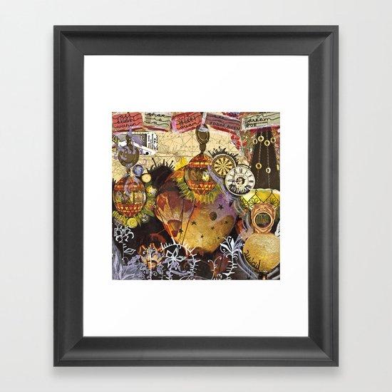 Within A Dream Framed Art Print