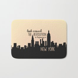 The revolution is happening in New York! Bath Mat
