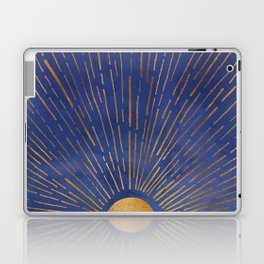 Twilight / Blue and Metallic Gold Palette Laptop & iPad Skin