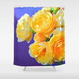 Flamboyant Rose Shower Curtain