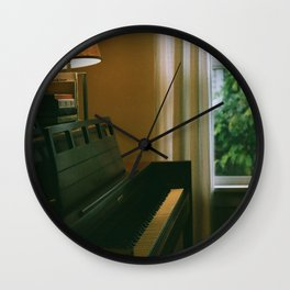 Saturday at home Wall Clock